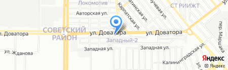 Газ-Авто на карте Ростова-на-Дону