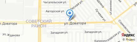 Изумрудный город на карте Ростова-на-Дону