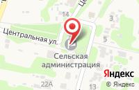 Схема проезда до компании Пункт услуг связи в Секиотово