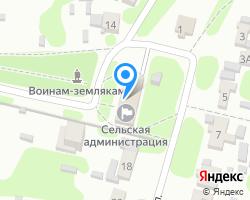 Схема местоположения почтового отделения 390504
