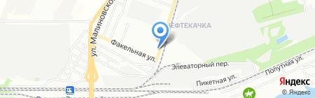 Поставщик на карте Ростова-на-Дону