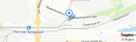 МК Картон на карте Ростова-на-Дону