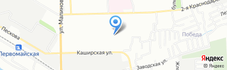 Детский сад №107 Сказка на карте Ростова-на-Дону