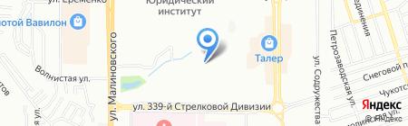 Средняя общеобразовательная школа №112 на карте Ростова-на-Дону