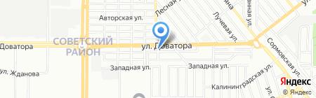 Сталь-Инвест на карте Ростова-на-Дону