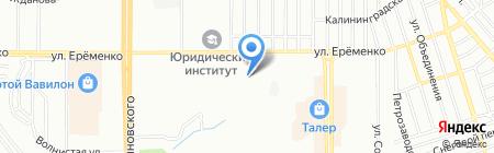 Медок на карте Ростова-на-Дону