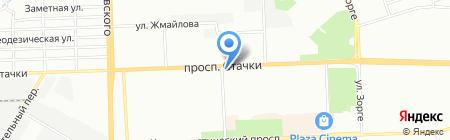 Дом шашлыка на карте Ростова-на-Дону