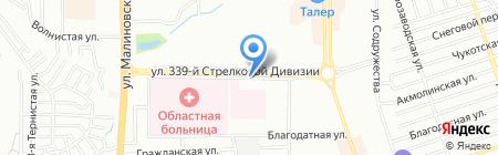 Время компьютеров на карте Ростова-на-Дону