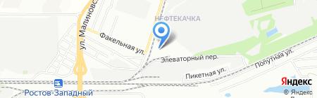 Стальпром на карте Ростова-на-Дону