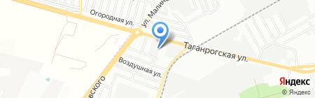 Армада Юг на карте Ростова-на-Дону