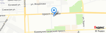 Планета Секонд Хэнд на карте Ростова-на-Дону