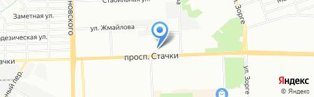 Юг-Фарма на карте Ростова-на-Дону