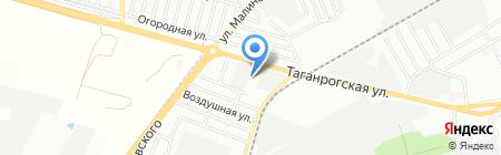 МонтажКМ на карте Ростова-на-Дону