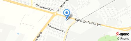 Лаб-Юг на карте Ростова-на-Дону
