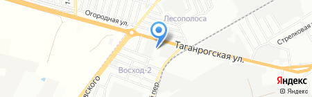 БЕТОЛИТ на карте Ростова-на-Дону