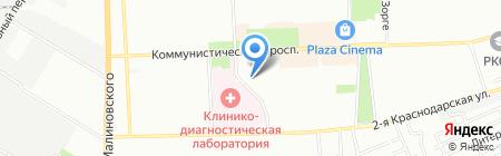 Детский сад №293 на карте Ростова-на-Дону
