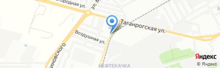 ДСМ на карте Ростова-на-Дону