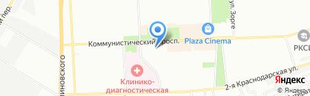 Шпилька на карте Ростова-на-Дону