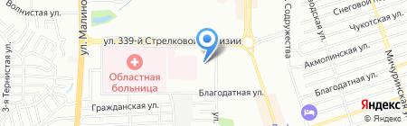 Николь на карте Ростова-на-Дону