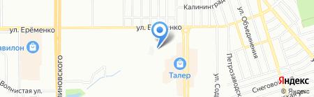 Детский сад №220 на карте Ростова-на-Дону