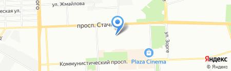 Средняя общеобразовательная школа №31 на карте Ростова-на-Дону