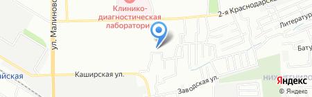 Стоматологическая поликлиника №4 на карте Ростова-на-Дону
