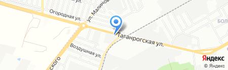 АвтоВэл на карте Ростова-на-Дону