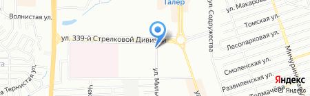 Борей-Ростов на карте Ростова-на-Дону