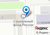 Управление пенсионного фонда России в Советском районе на карте