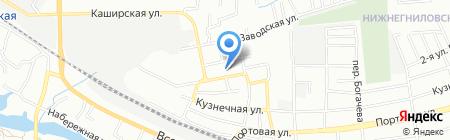 Анастасия на карте Ростова-на-Дону