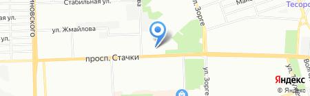 Фрау Марта на карте Ростова-на-Дону