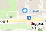 Схема проезда до компании Даниловский текстиль в Ростове-на-Дону