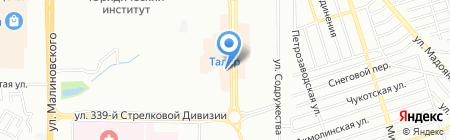 Окна plus на карте Ростова-на-Дону