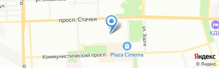 Детский сад №264 Искорка на карте Ростова-на-Дону