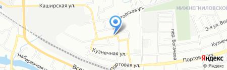 Профессиональная упаковка.рф на карте Ростова-на-Дону