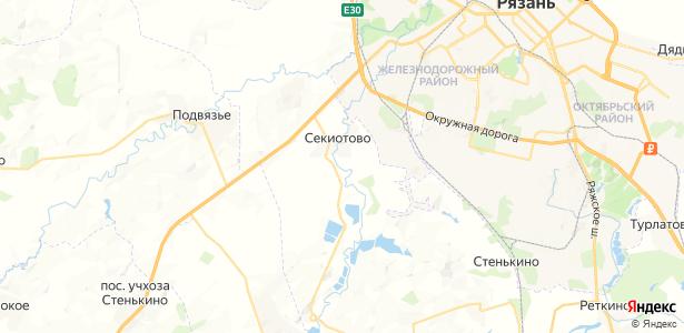 Оленинское на карте