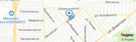 Ника-плюс на карте Ростова-на-Дону