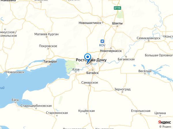 микрорайон Западный на карте