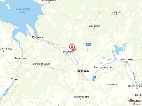 деревня Мухино на карте