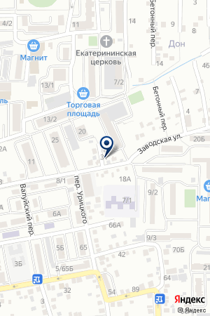 ИНСПЕКЦИЯ ФЕДЕРАЛЬНОЙ НАЛОГОВОЙ СЛУЖБЫ РОССИИ ПО Г.САЛЬСКУ на карте Сальска