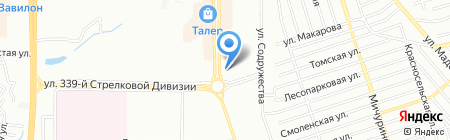 Банкомат Промсвязьбанк на карте Ростова-на-Дону
