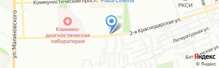 Оптик Сервис на карте Ростова-на-Дону