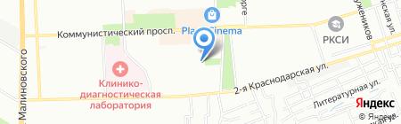 Контакт на карте Ростова-на-Дону