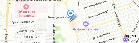 Мебель на карте Ростова-на-Дону