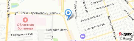 Дежурная аптека на карте Ростова-на-Дону