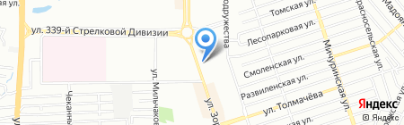 КПИ на карте Ростова-на-Дону
