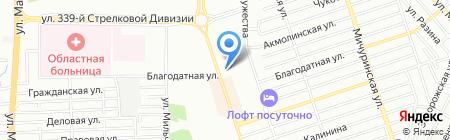 Вега Плюс на карте Ростова-на-Дону