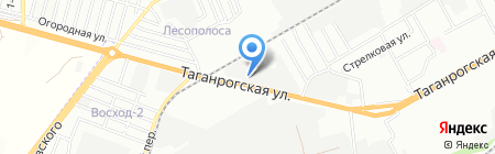 Стройинвест+ на карте Ростова-на-Дону