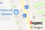 Схема проезда до компании Киоск по продаже фруктов и овощей в Ростове-на-Дону
