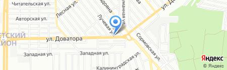 ЮгТрансСервис на карте Ростова-на-Дону